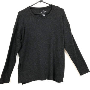 American Eagle Soft and Sexy Plush Long Sleeve Swe